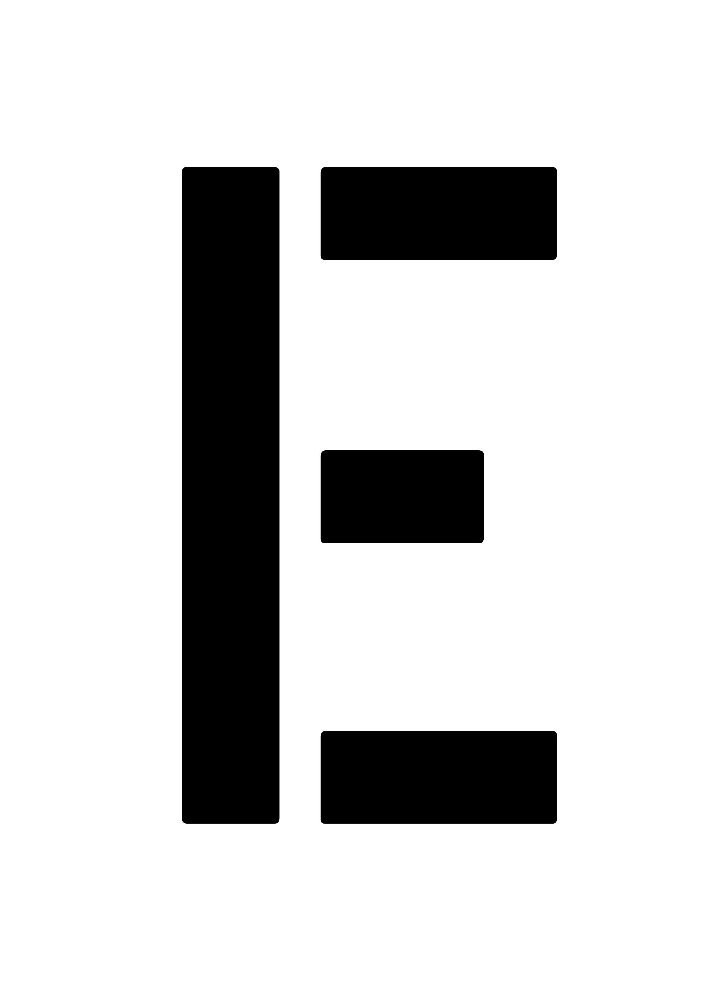 6 Buchstabenschablonen